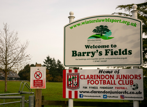 Barrys Fields Winterslow Salisbury Sports and Recreation